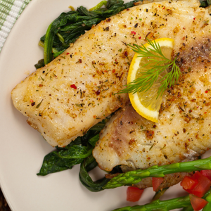 Baked Lemon Pepper Tilapia