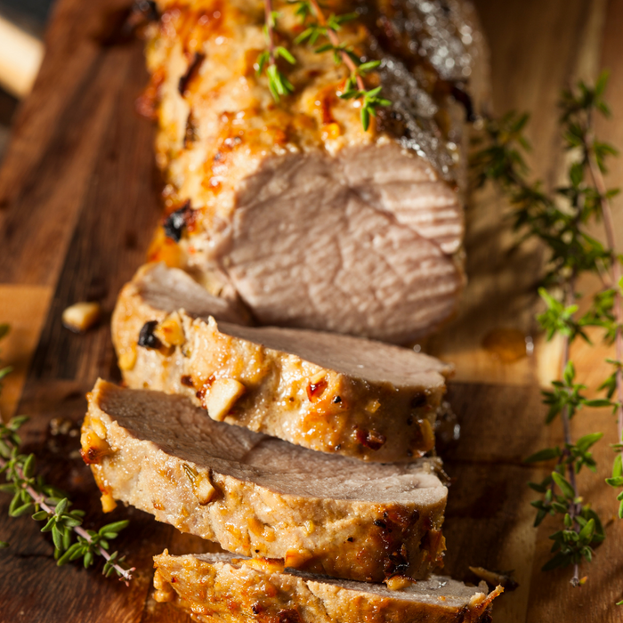 Greek Pork Tenderloin