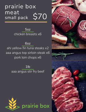 Prairie Box Meat Pack - Small