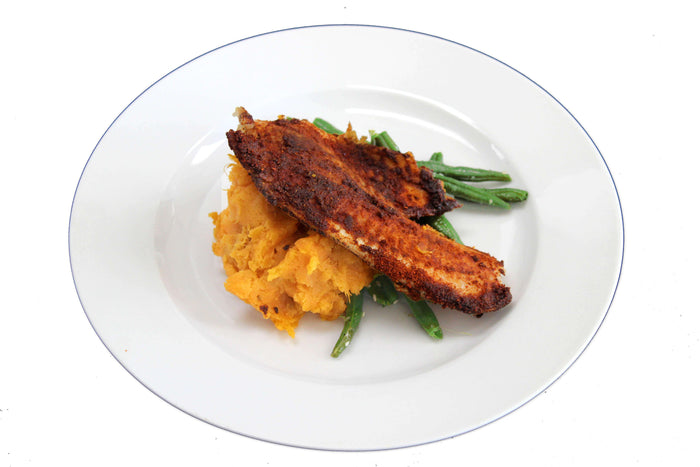 Low-Carb Cajun-Spiced Tilapia