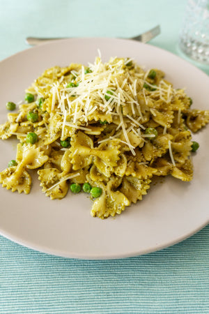 Pea and Pesto Pasta
