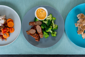 Cheesy Beef Sausage and Broccoli