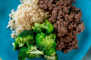 Lean Beef, Broccoli and Rice