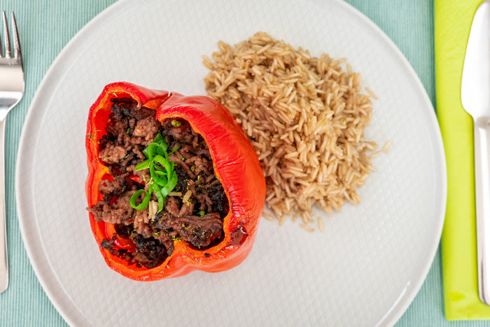 Stuffed Beef Peppers