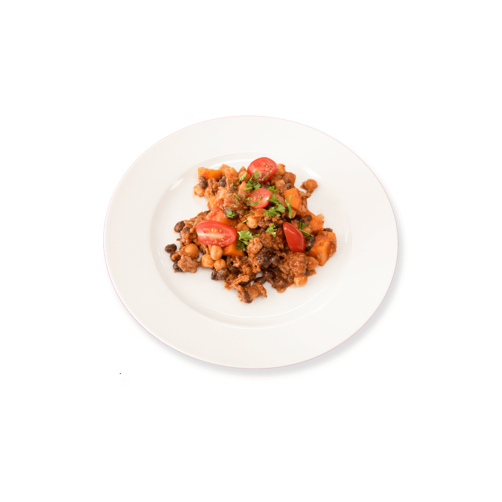 Hearty Beef and Butternut Chili