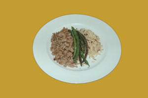 Ground Turkey with Green Beans and Wild Rice