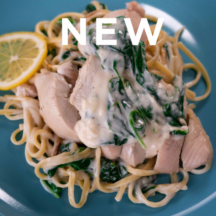 Creamy Lemon Chicken Fettucine