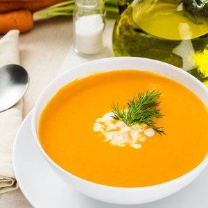 Coconut Carrot Curry Soup