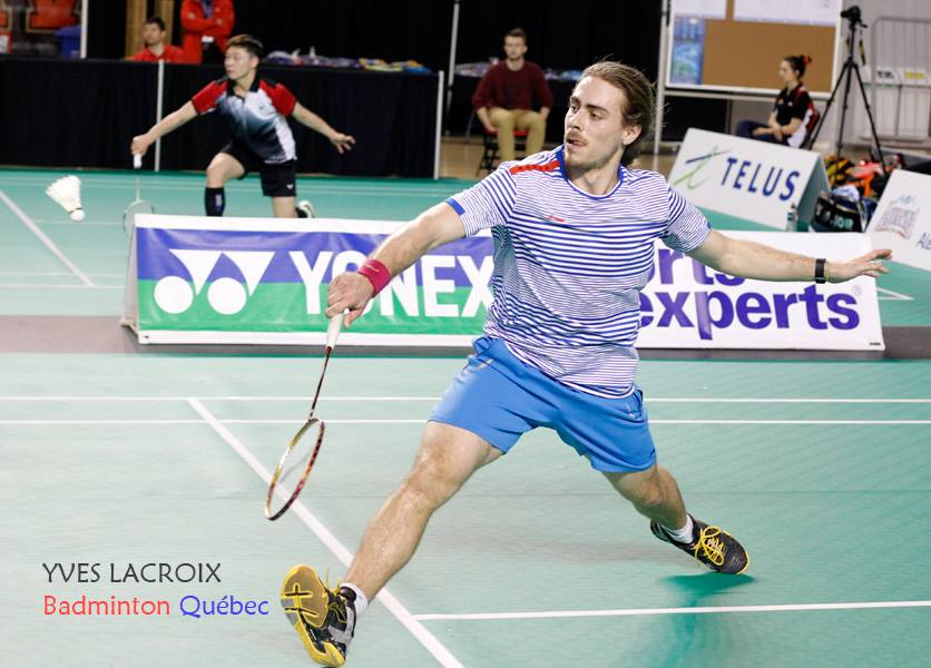 Félix Deblois-Beaucage athlete badminton