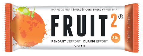 Fruit 2 Orange Energy fruit bar