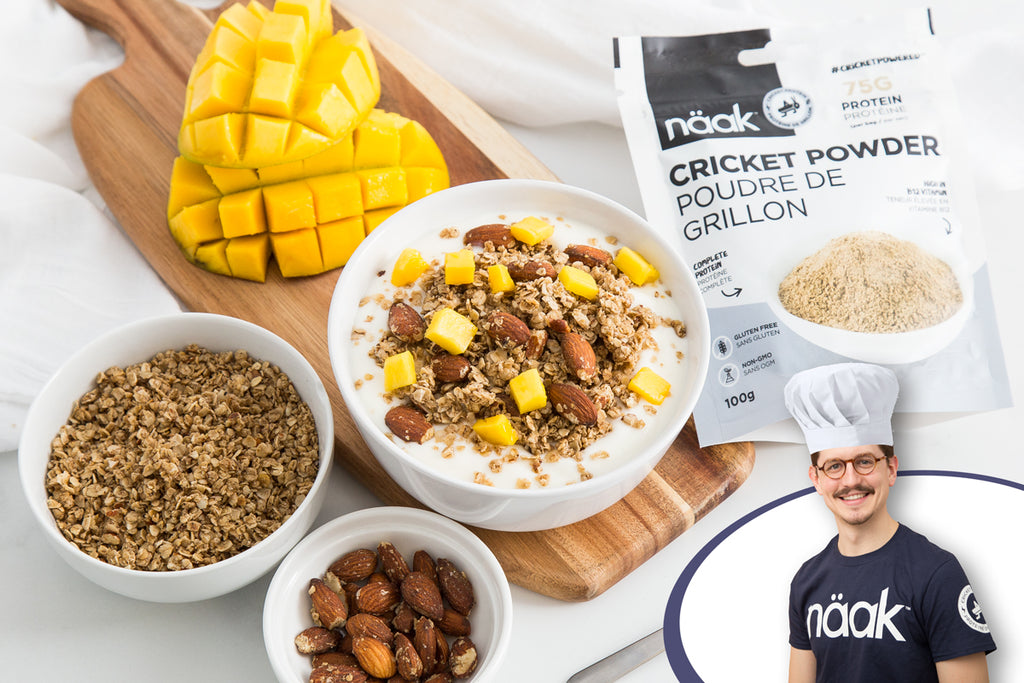 Cricket granola