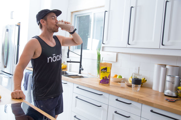 Protein powder recovery