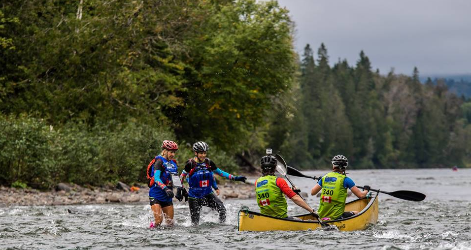 Kayak  Raid international Gaspésie