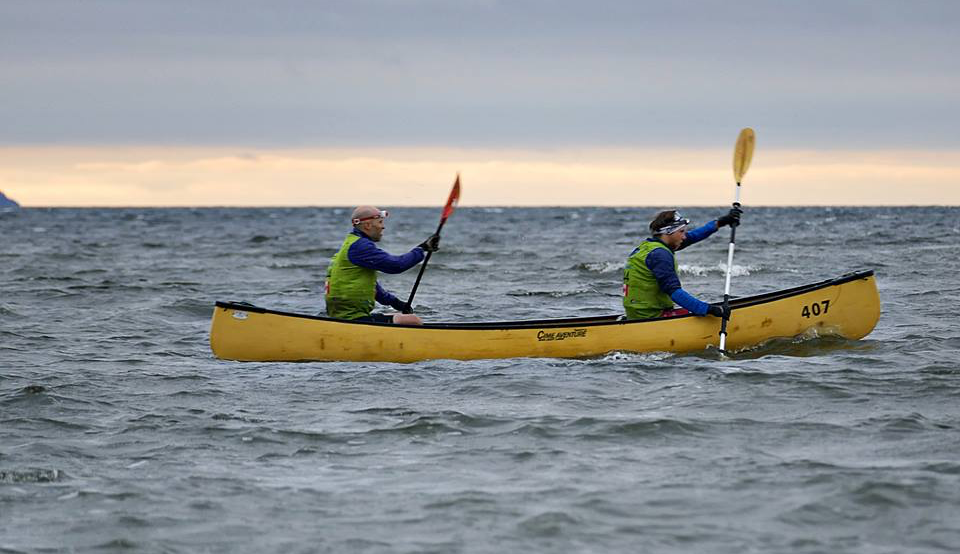 Kayak sea