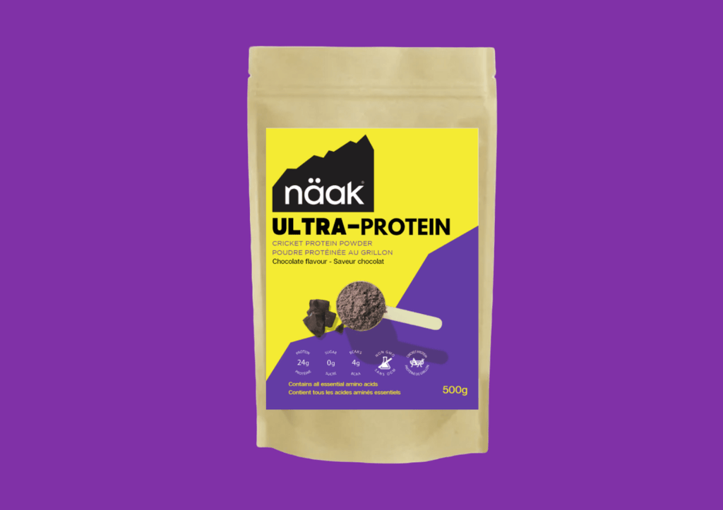 Naak cricket chocolate protein powder