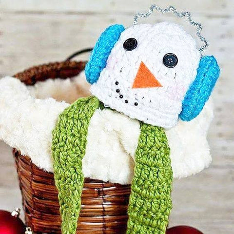 Crochet Snowman Hat Beanie Scarf Set Infant Newborn Baby Toddler Child Adult Handmade Photography Photo Prop Baby Shower Gift