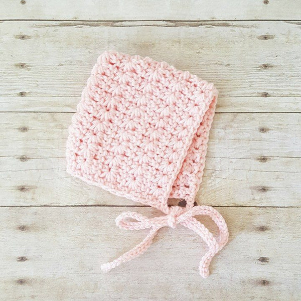 Crochet Baby Pixie Bonnet Hat Beanie Infant Newborn Baby Toddler Child Photography Photo Prop Baby Shower Gift Present Baby Girl Handmade - Red Lollipop Boutique