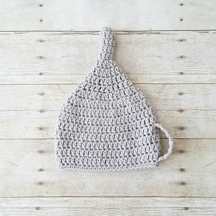 Crochet Baby Tin Man Hat Beanie Wizard of Oz Infant Newborn Baby Toddler Child Adult Photography Photo Prop Gift - Red Lollipop Boutique
