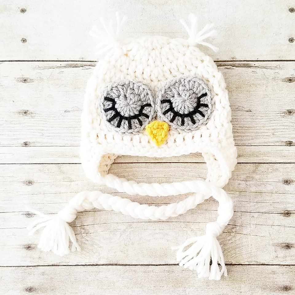 ... Crochet Baby Owl Hat Beanie Animal Newborn Infant Toddler Child Adult  Photography Photo Prop Handmade Baby 150647a4fa4