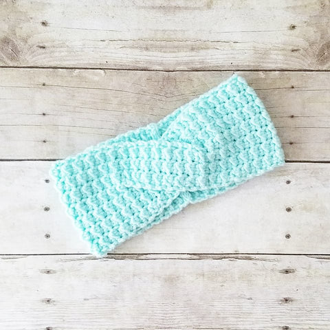 Crochet Headband Head Wrap Ear Warmer Handmade