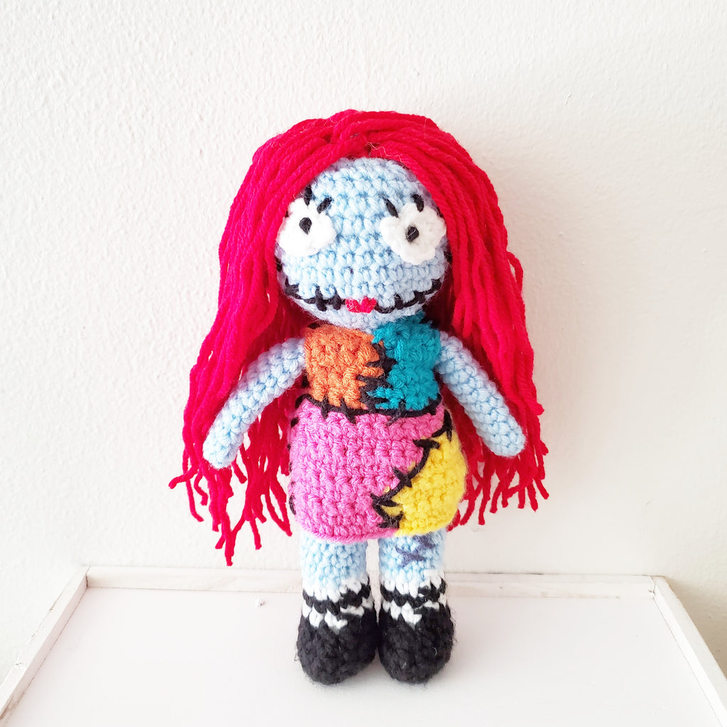 Crochet Sally Doll Nightmare Before Christmas Toy Halloween Handmade