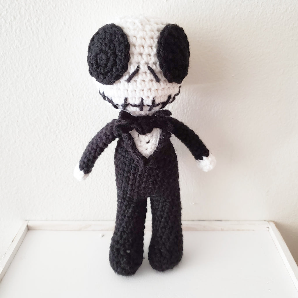 Crochet Jack Doll Nightmare Before Christmas Toy Halloween Handmade