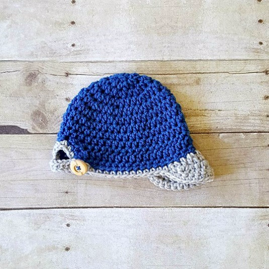 Crochet Baby Baseball Cap Hat Beanie Sports Newborn Infant Toddler Child Newsboy Visor Photography Photo Prop Handmade Baby Shower Gift