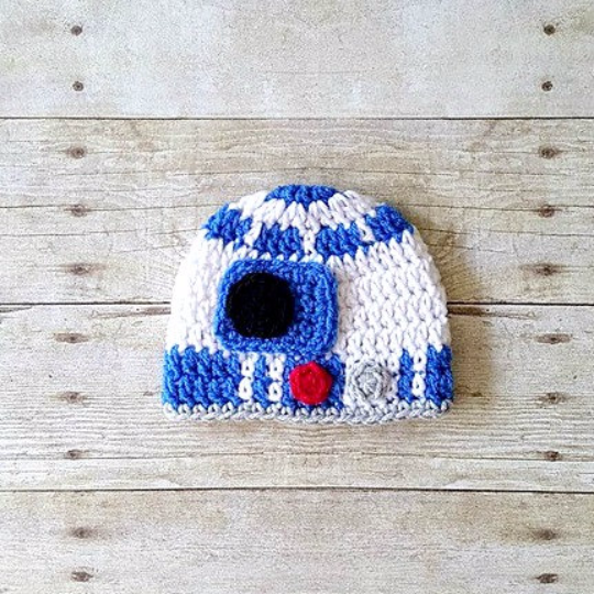 cb7ee1b9ce6 ... shopping crochet baby r2d2 hat beanie diaper cover set bloomers star  wars inspi red lollipop boutique ...