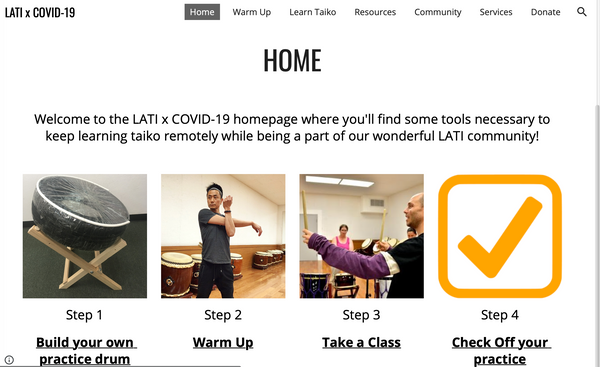 LATI x COVID-19 Website Launched!