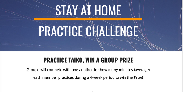 Stay At Home Practice Challenge