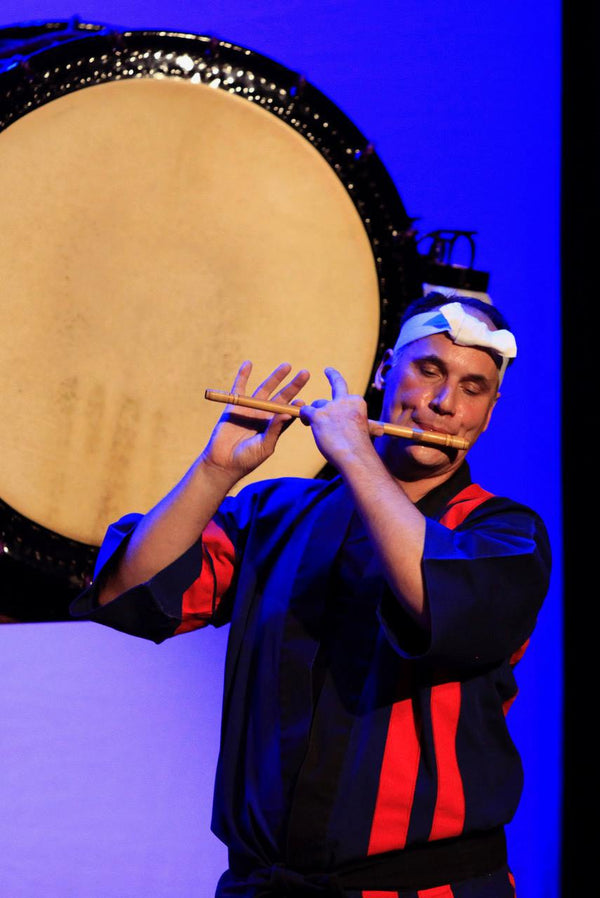 Fue & Yatai bayashi Work shop with Marco Lienhard at Asano Taiko US