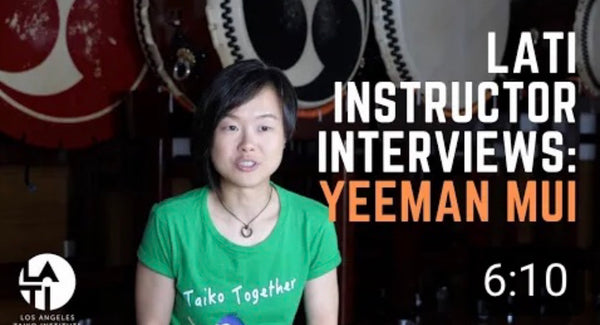 Yeeman Mui: Los Angels Taiko Institute Instructor Interview!