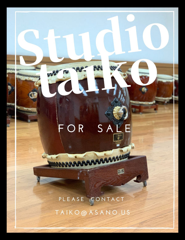 Studio taiko for sale!