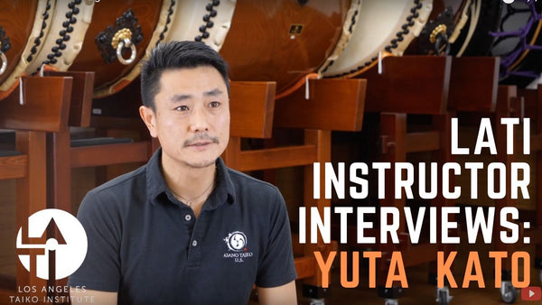 Yuta Kato : Los Angels Taiko Institute Instructor Interview!