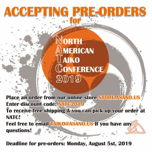Accepting pre-orders for NATC2019!