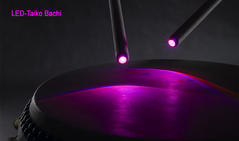 LED-Taiko Bachi by KAISER DRUMS