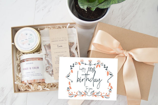 60th Birthday Gift Box