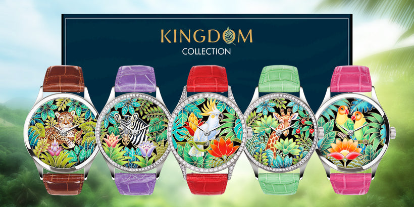 Press Release: Ématelier Launches New Kingdom Collection — Cloisonné Enamel Dial Luxury Watches