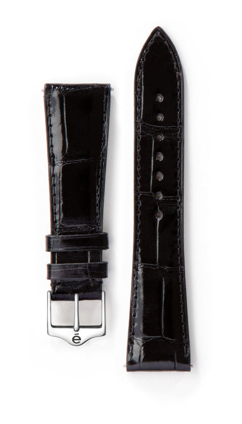 Black Alligator Watch Band