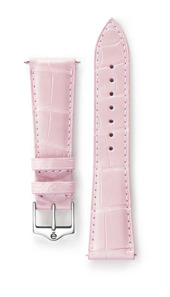 Pink Alligator Watch Band