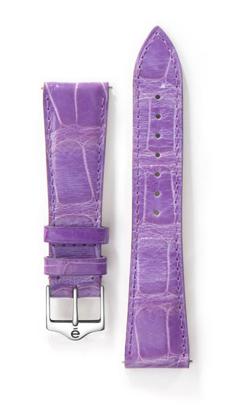 Purple Alligator Watch Band