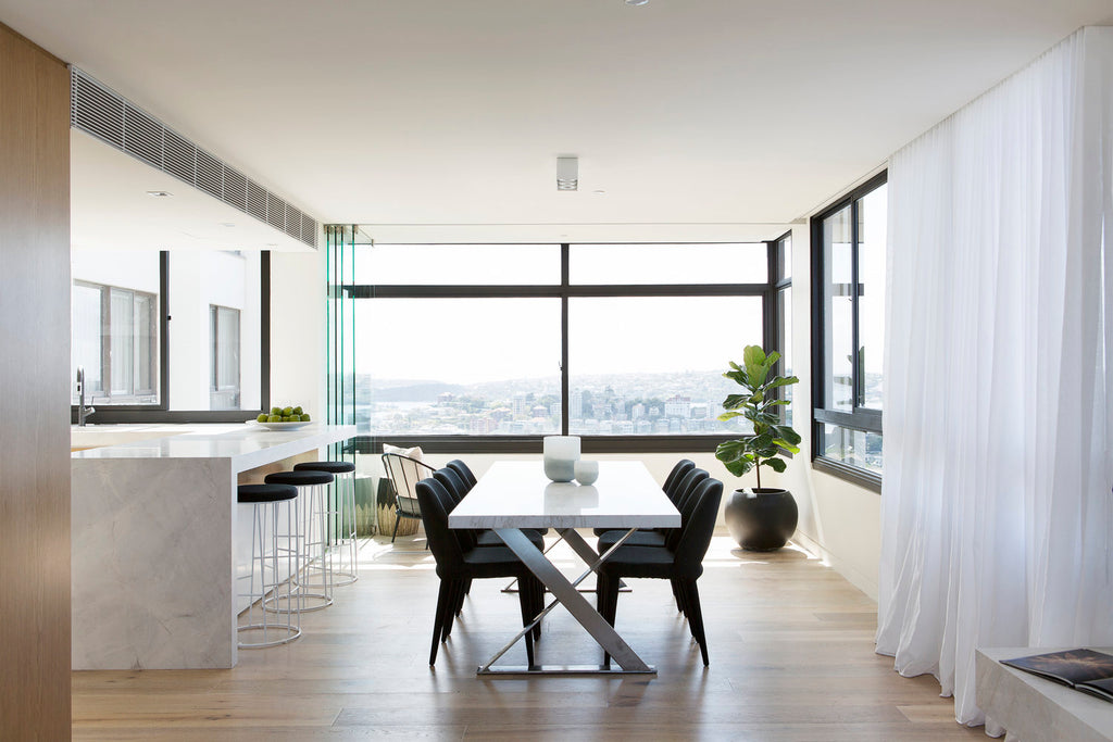 Dining area by Alexandra Kidd Design