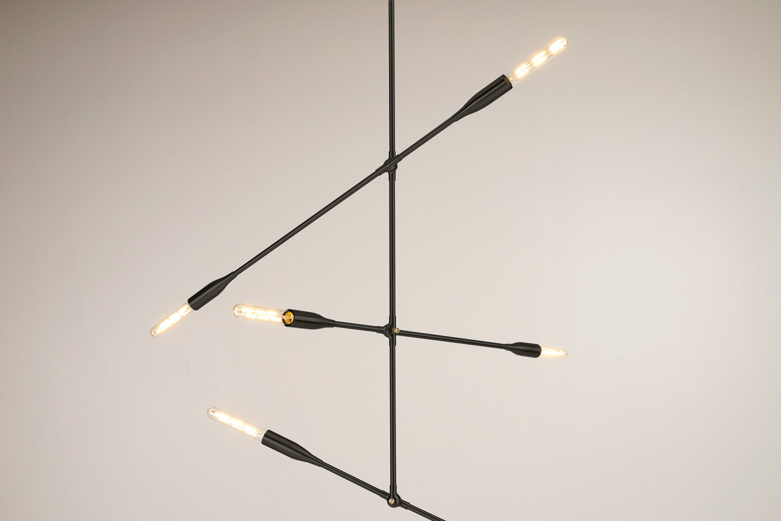 Sorenthia 3 Arm Light By Studio Dunn Custom Made Contemporary Lights Wire And Usa On Pinterest