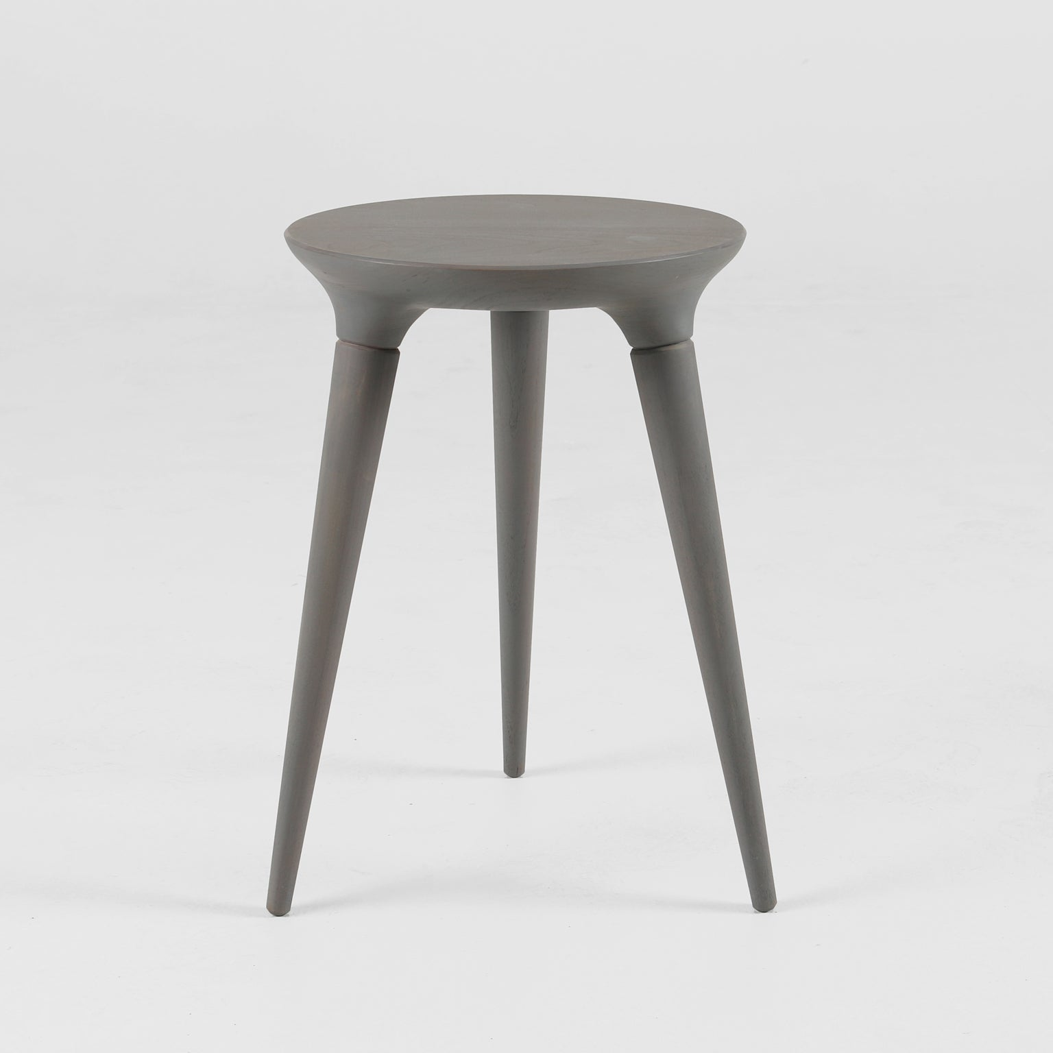 Sample Sale: Coventry Stool in Weathered Grey Stain