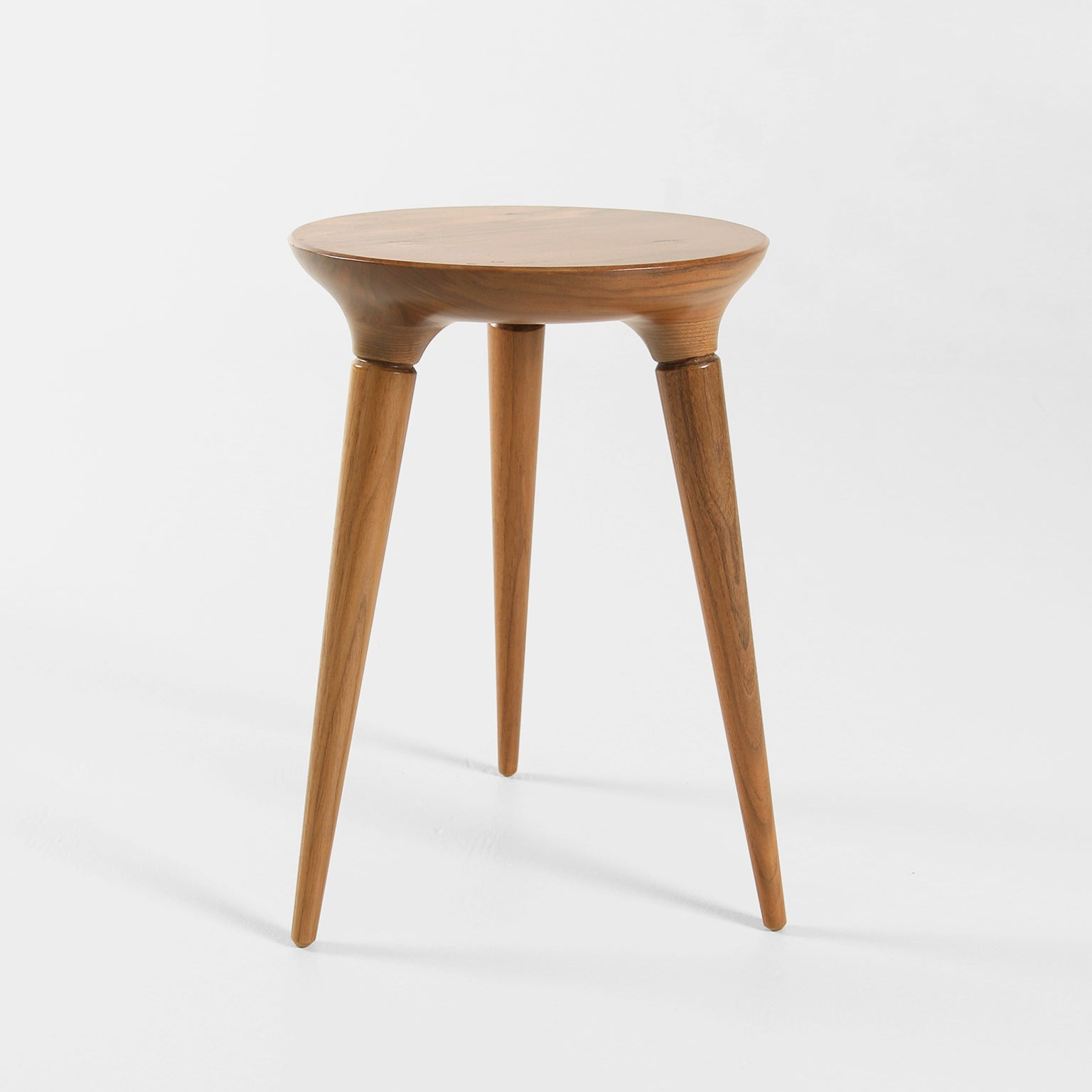 Coventry Stool in Walnut