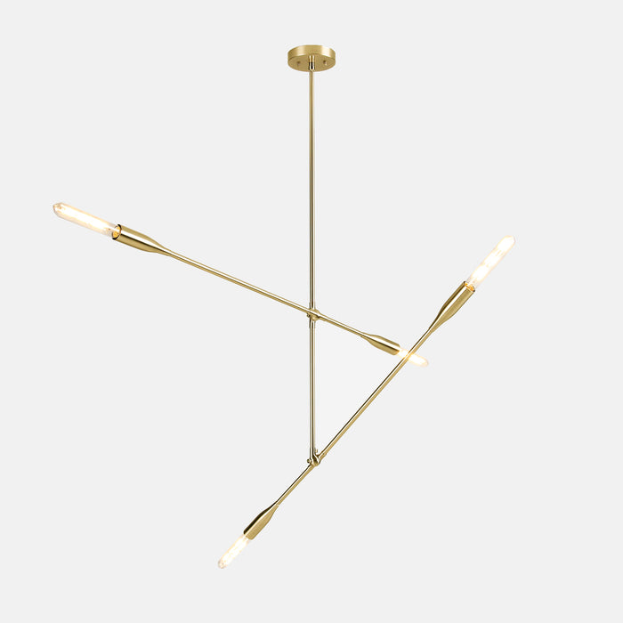 Sorenthia 2-Arm Light in Brushed Brass