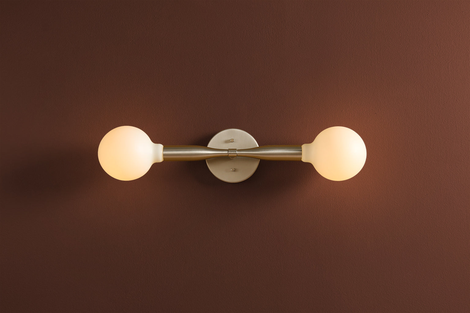 Sorenthia 2 Sconce in Oil Rubbed Brass