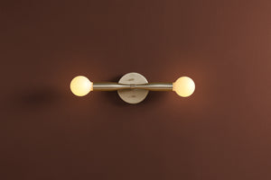 Sorenthia 2 Sconce in Brushed Nickel