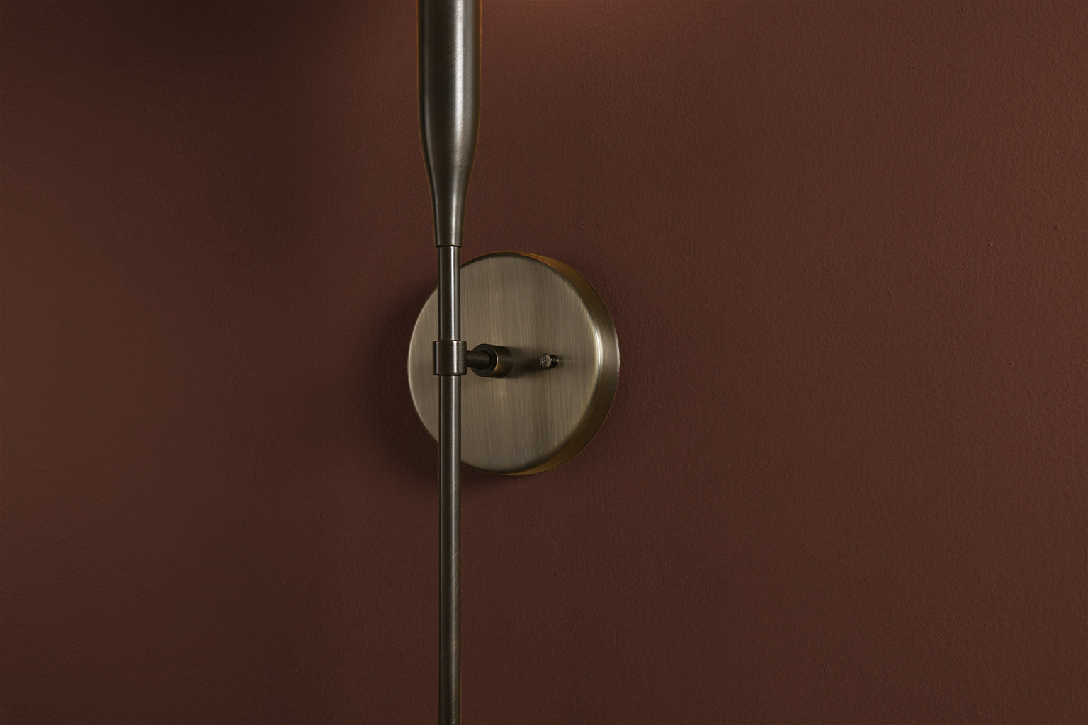 Sorenthia Sconce in Brushed Brass