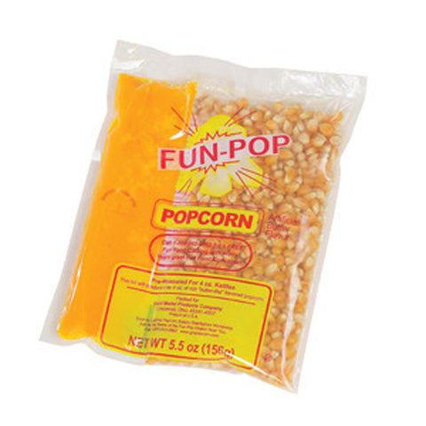 4 OZ. Fun Pop Popcorn, Oil and Salt Kits (12/CS)